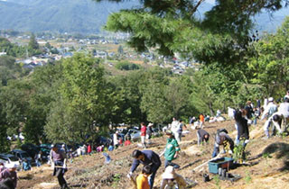 "Nagano ""Adopt a Forest"" Tree planting Project"