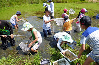 Operation to Support Environmental Conservation Activitie