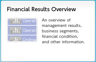 Financial Results Overview An overview of management results, business segments, financial condition, and other information.