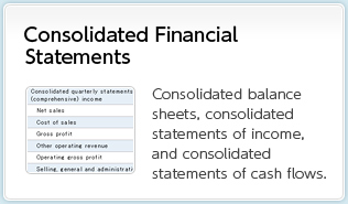 Consolidated Financial Statements Consolidated balance sheets, consolidated statements of income, and consolidated statements of cash flows.