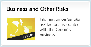 Business and Other Risks Information on various risk factors associated with the Group's business.