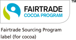 Fairtrade Sourcing Program label (for cocoa)