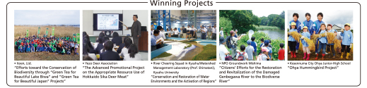 Winning Projects